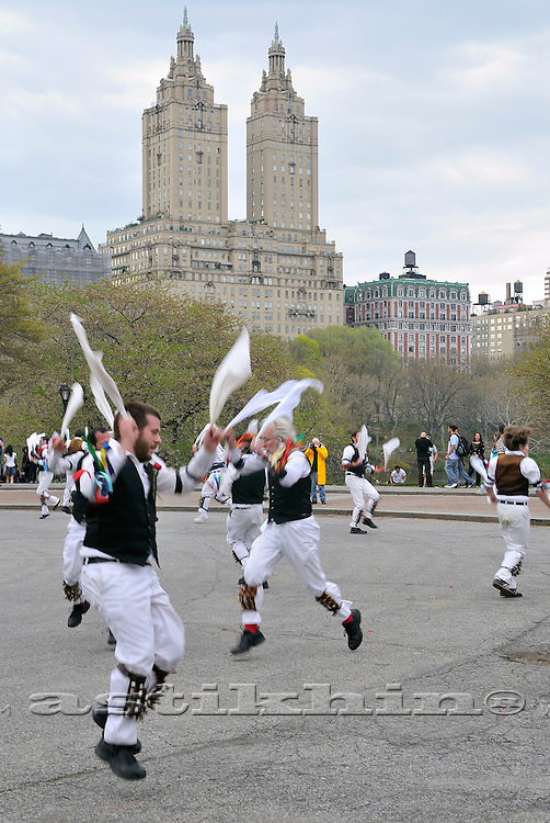 Morris Dance in New York City