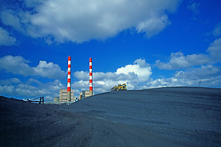 Power Plant Coal Pile