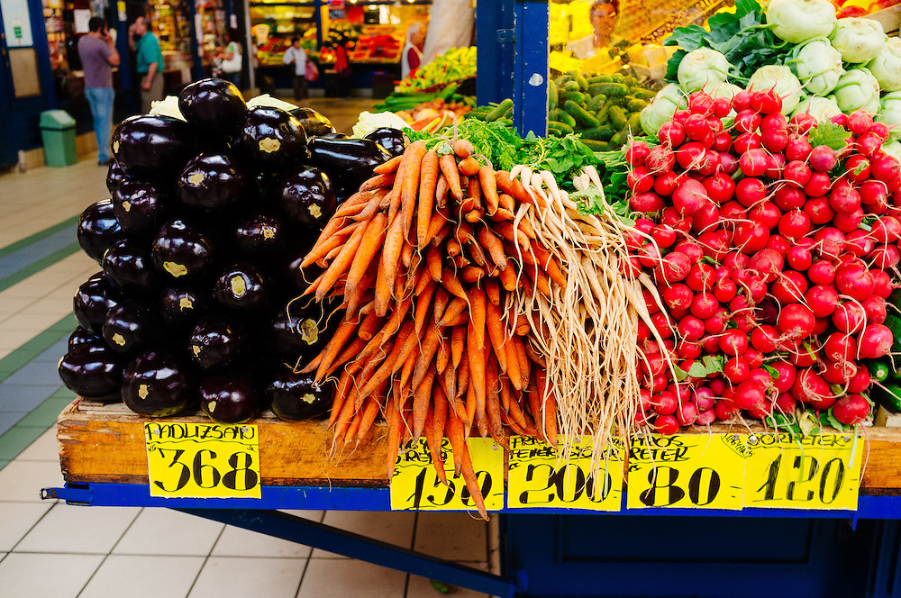 Fresh produce at the Great Market Hall