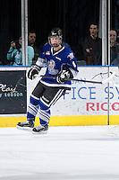 KELOWNA, CANADA - JANUARY 2:  Tyler Soy #8 of the Victoria Royals skates on the ice at the Kelowna Rockets on January 2, 2013 at Prospera Place in Kelowna, British Columbia, Canada (Photo by Marissa Baecker/Shoot the Breeze) *** Local Caption ***