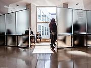 Milan, SDA Bocconi School of Management, studying common areas, Velodromo building