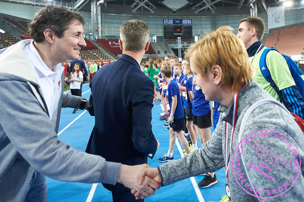 Artur Partyka during Youth Pedro&rsquo;s Cup by Caroline B. LeFrak Foundation while athletics meeting Pedro's Cup at Atlas Arena in Lodz, Poland.<br /> <br /> Poland, Lodz, February 17, 2015<br /> <br /> Picture also available in RAW (NEF) or TIFF format on special request.<br /> <br /> For editorial use only. Any commercial or promotional use requires permission.<br /> <br /> Adam Nurkiewicz declares that he has no rights to the image of people at the photographs of his authorship.<br /> <br /> Mandatory credit:<br /> Photo by &copy; Adam Nurkiewicz / Mediasport