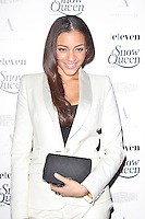 LONDON - December 18: Amal Fashanu at the Snow Queen Vodka 2013 - Calendar Launch Party (Photo by Brett D. Cove)