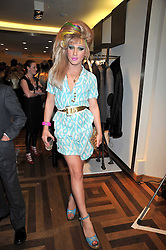 JODIE HARSH at a party hosted by Petra Ecclestone at Matches, 87 Marylebone High Street, London on 7th September 2009.