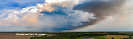 63891-03102 Aerial view of thunderstorm clouds Marion Co. IL
