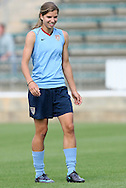 25 April 2008: Tobin Heath. The United States Women's National Team held a training session in WakeMed Stadium, formerly SAS Stadium, in Cary, NC.