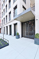 Entrance at 560 West 24th Street