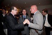 JOHN DAVIS;  JEREMY HACKETT; TY JEFFREYS;, Book launch party for the paperback of Nicky Haslam's book 'Sheer Opulence', at The Westbury Hotel. London. 21 April 2010