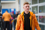 Hull City Midfielder Sam Clucas (11) arriving before the Premier League match between Hull City and Swansea City at the KCOM Stadium, Kingston upon Hull, England on 11 March 2017. Photo by Craig Zadoroznyj.