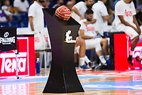 The official game ball of Liga Endesa during match of Liga Endesa at Barclaycard Center in Madrid. September 30, Spain. 2016. (ALTERPHOTOS/BorjaB.Hojas)