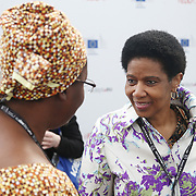 20160615 - Brussels , Belgium - 2016 June 15th - European Development Days - Bilateral Meeting <br /> Nyaradzayi Gumbozvanda<br /> Representative of CONCORD Europe / International Board Chair, Action Aid International and Phumzile Mlambo-Ngcuka, Executive Director UN Women<br /> &copy; European Union