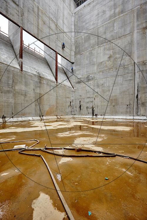 Forbrændingsanlæg BIG arkitekter skibakke Amager NCC beton betonbyggeri arbejdsmiljø sikkerhed rapelling