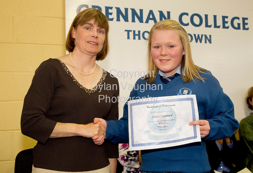 13/5/2010.Grennan College Awards Thomastown.Photograph Dylan Vaughan.
