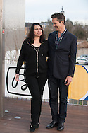 ©www.agencepeps.be - 140219 - F.Andrieu - A.Rolland - Festival du Film d'Amour de Mons. Pics: Ruppert Everett et Béatrice Dalle