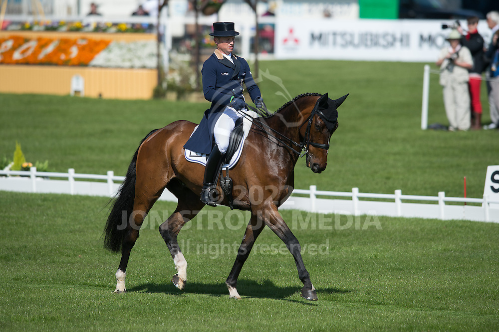 Michael Jung (GER) & Leopin FST - Dressage - Mitsubishi Motors Badminton Horse Trials - CCI4* - Badminton, Gloucestershire, United Kingdom - 03 May 2013