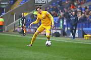 Preston North End Midfielder Adam Reach during the Sky Bet Championship match between Bolton Wanderers and Preston North End at the Macron Stadium, Bolton, England on 12 March 2016. Photo by Pete Burns.