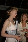 Siobhan Hewlett and Sophia Dawnay, Glamour Women of the Year Awards 2006, Berkeley Sq. London. 6 June 2006. -DO NOT ARCHIVE-© Copyright Photograph by Dafydd Jones 66 Stockwell Park Rd. London SW9 0DA Tel 020 7733 0108 www.dafjones.com