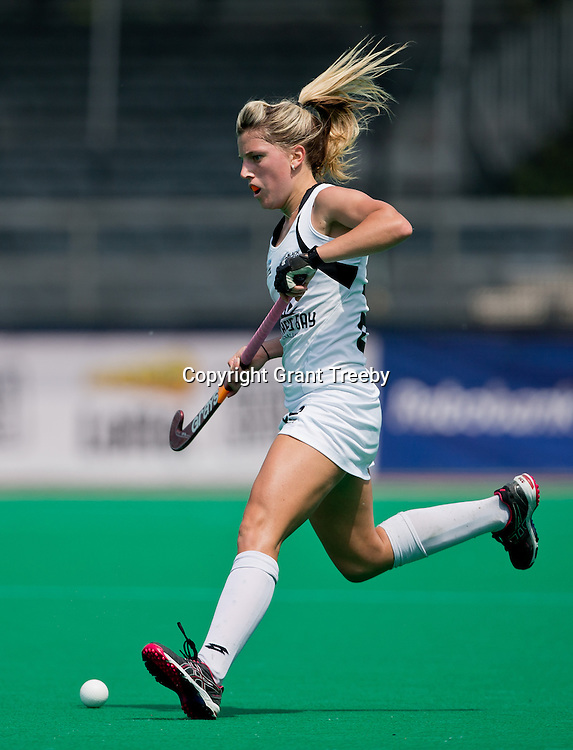 Hockey Womens World league Semi Finals Rotterdam 2013<br /> QF New Zealand v Japan 18062013<br /> Gemma  Flynn<br /> <br /> Photo: Grant Treeby / treebyimages