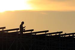 August 1, 2018 - Huai'An, Huai'an, China - Huai'an, CHINA-Construction workers work at a construction site in Huai'an, east China's Jiangsu Province. (Credit Image: © SIPA Asia via ZUMA Wire)
