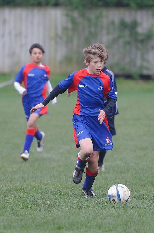 Wellesley College Old Boy Sports Day. .Thursday June 30, 2011..Photo: Mark Tantrum/photosport.co.nz