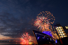 Queens 90th Birthday Royal Yacht Britannia Fireworks | Edinburgh | 21 April 2016