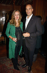LUCY YEOMANS and DR MARTIN KELLY at The Hospital Awards - to honour talent in the creative industry, held at 9 Grosvenor Place, London on 3rd october 2006.<br /><br />NON EXCLUSIVE - WORLD RIGHTS