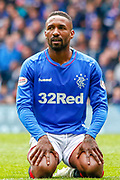 Jermain Defoe of Rangers FC during the Ladbrokes Scottish Premiership match between Rangers and Aberdeen at Ibrox, Glasgow, Scotland on 27 April 2019.