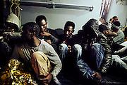 Attività di pattugliamento, ricerca e soccorso migranti nel Canale di Sicilia.  Lampedusa 19 maggio 2015.  Christian Mantuano / OneShot <br /> <br /> Patrol, search and rescue operations in the Mediterranean sea. Lampedusa on May 19, 2015. Christian Mantuano / OneShot