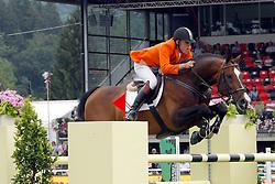 Raymakers Piet Jr (NED) - Van Schijndel's Rascin<br /> FEI Nations Cup Sankt Gallen 2011<br /> © Hippo Foto - Beatrice Scudo