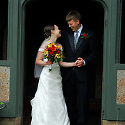 June 20, 2009 -- Tyler and Claire Cadman wedding. Photo by Roger S. Duncan.