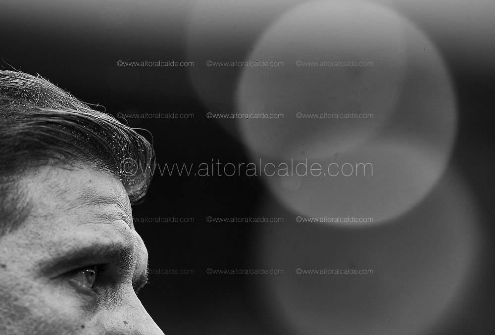 SEVILLE, SPAIN - DECEMBER 04:  Joaquin Sanchez of Real Betis Balompie looks on during La Liga match between Real Betis Balompie an RC Celta de Vigo at Benito Villamarin Stadium on December 4, 2016 in Seville, Spain.  (Photo by Aitor Alcalde Colomer/Getty Images)
