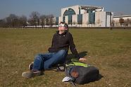Solar eclipse over Berlin