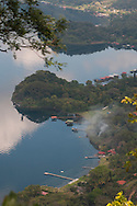 Panoramic view of Lake Coatepeque, Santa Ana..Vista panoramica del lago de Coatepeque, Santa Ana. (Photo: Wilton Castillo/Imagenes Libres).
