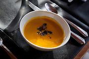 Yellow squash soup, Sitka, Alaska