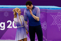 February 15, 2018 - Gangneung, South Korea - Aljona Savchenko and Bruno Massot of Germany win the gold medal the Pairs Figure Skating Free Skating at the PyeongChang 2018 Winter Olympic Games at Gangneung Ice Arena on Thursday February 15, 2018. (Credit Image: © Paul Kitagaki Jr. via ZUMA Wire)