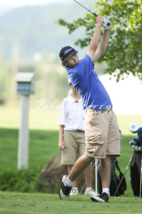 August/19/10:  MCHS Golf vs William Monroe and Charlottesville, Greene Hills Country Club
