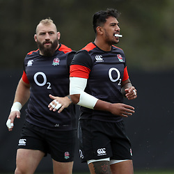 Denny Solomona  (Sale Sharks) during the England Rugby training session at  Jonsson Kings Park Stadium,Durban.South Africa. 20,06,2018 Photo by (Steve Haag JMP)