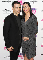 Will Stoppard & Linzi Stoppard, Celebrities attend an exclusive Bridget Jones's Baby Red Carpet Screening and Bridget inspired Dating Seminar to celebrate the UK DVD release, Charlotte Street Hotel, London UK, 31 January 2017, Photo by Brett D. Cove