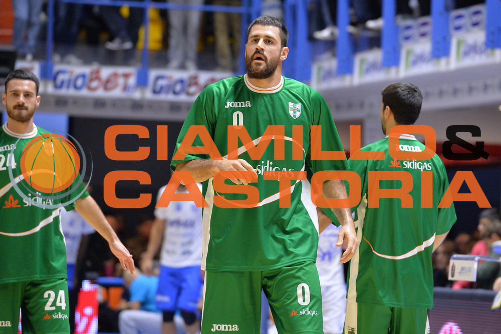 Zerini Andrea<br /> Happycasa Basket Brindisi - Sidigas Avellino<br /> Legabasket serieA 2017-2018<br /> Brindisi , 15/11/2017<br /> Foto Ciamillo-Castoria/ M.Longo