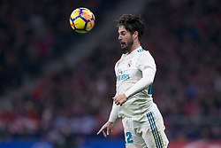 November 18, 2017 - Madrid, Madrid, Spain - Isco during the match between Atletico de Madrid and Real Madrid, week 12 of La Liga at Wanda Metropolitano stadium, Madrid, SPAIN - 18th November of 2017. (Credit Image: © Jose Breton/NurPhoto via ZUMA Press)