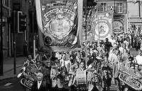 Maltby Branch banner. 1992 Yorkshire Miners Gala, Barnsley.