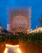 British Pavilion at Milan Expo 2015 by Wolfgang Buttress