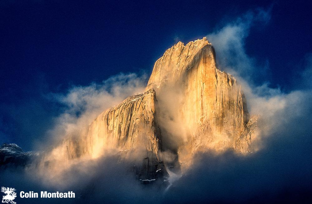 Great Trango Tower, above Baltoro glacier, Karakoram mountains, Pakistan.