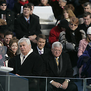 Sen. Christopher Dodd (D-CT) speaks at the US Capitol in Washington, Jan. 20, 2005...Photo by Khue Bui