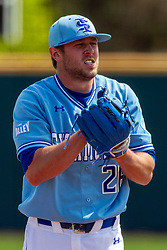 NORMAL, IL - May 01:   Tyler Whitbread during a college baseball game between the ISU Redbirds and the Indiana State Sycamores on May 01 2019 at Duffy Bass Field in Normal, IL. (Photo by Alan Look)