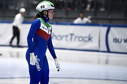 February 8, 2019 - Torino, Italia - Foto LaPresse/Nicolò Campo .8/02/2019 Torino (Italia) .Sport.ISU World Cup Short Track Torino - 500 meter Ladies Preliminaries.Nella foto: Elena Viviani..Photo LaPresse/Nicolò Campo .February 8, 2019 Turin (Italy) .Sport.ISU World Cup Short Track Turin - 500 meter Ladies Preliminaries.In the picture: Elena Viviani (Credit Image: © Nicolò Campo/Lapresse via ZUMA Press)
