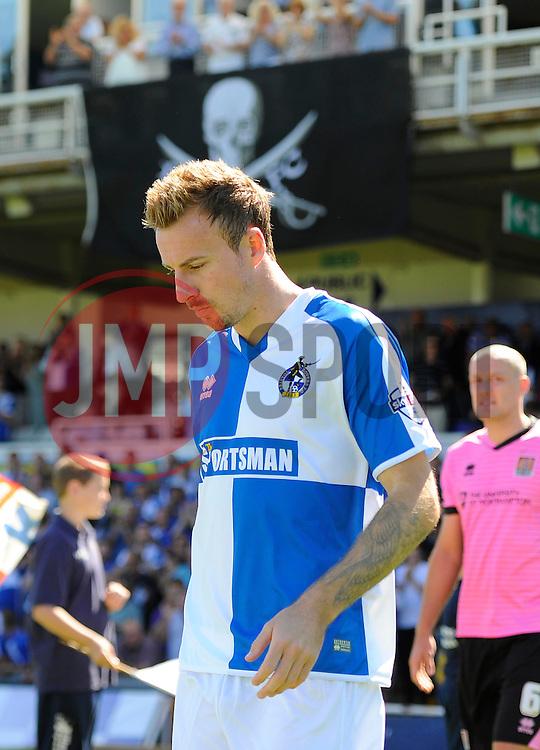 Chris Lines of Bristol Rovers  - Mandatory byline: Joe Meredith/JMP - 07966386802 - 08/08/2015 - FOOTBALL - Memorial Stadium -Bristol,England - Bristol Rovers v Northampton Town - Sky Bet League Two