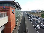 Rishon Le'Tzion train station and Ayalon Highway