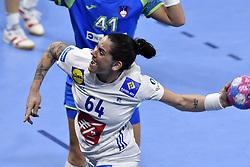 France player Alexandra Lacrabere during the Women's european handball chanmpionship preliminary round, Slovenia vs France. Nancy, Fance -02/12/2018//POLEMILE_01POL20181202NAN030/Credit:POL EMILE / SIPA/SIPA/1812021731