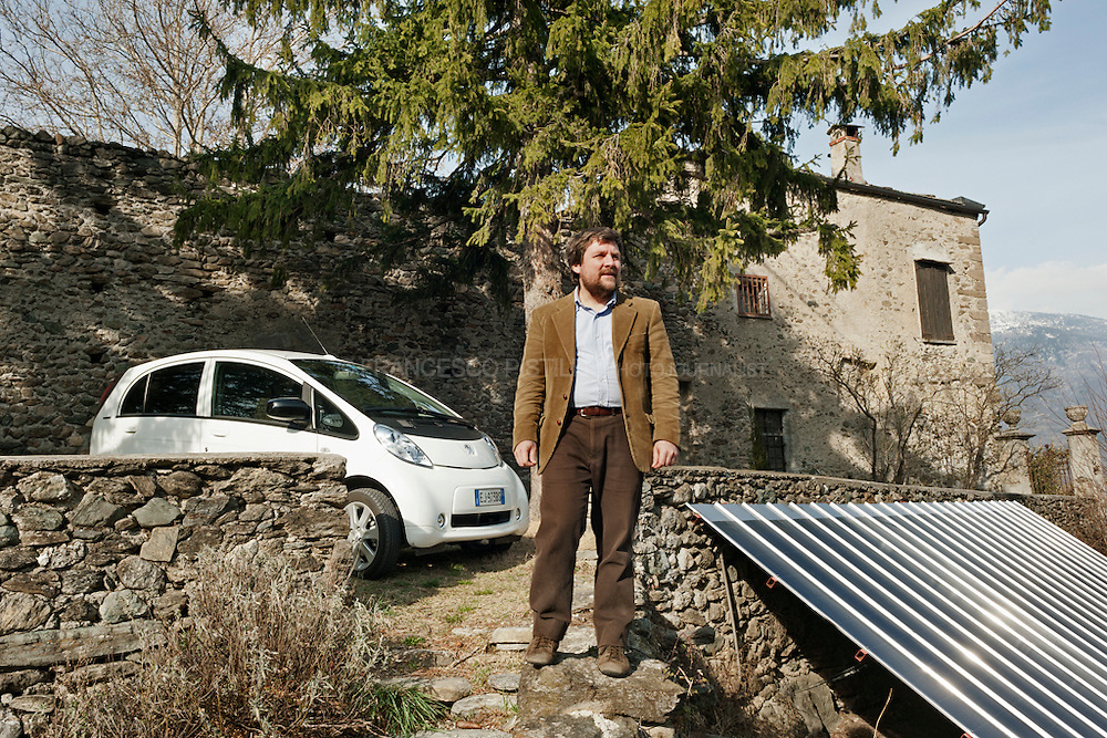 Luca Mercalli for WIRED Italy. Val Susa 2012.